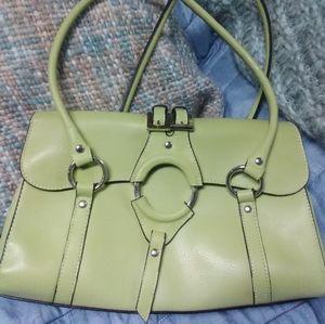 Springtime Green Vintage Purse